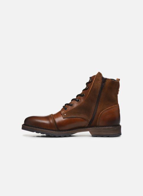 Bottines et boots Mustang shoes Samy Marron vue face