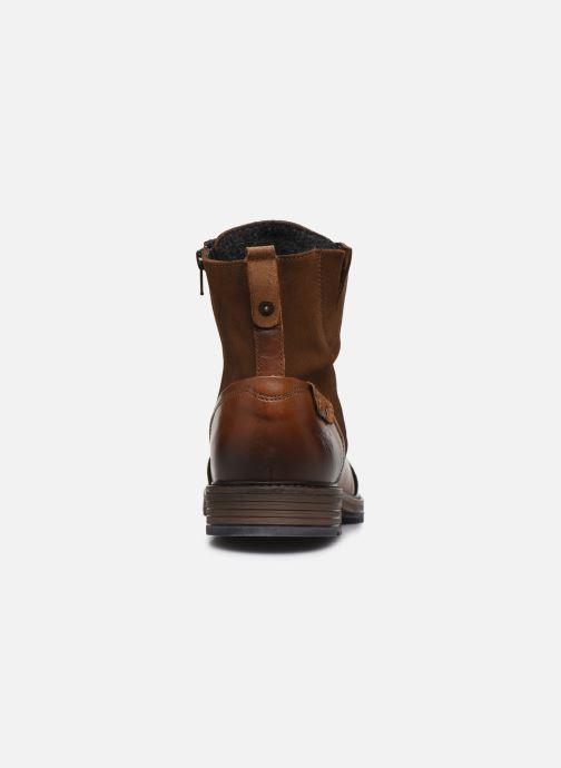 Stivaletti e tronchetti Mustang shoes Samy Marrone immagine destra