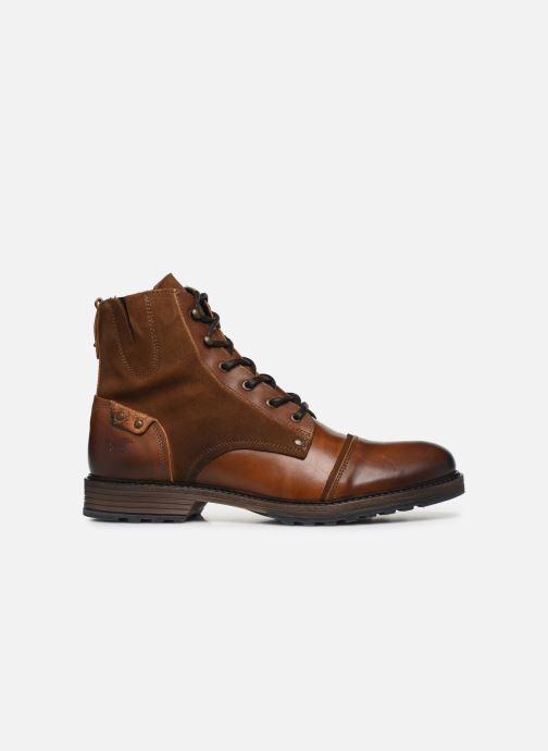 Bottines et boots Mustang shoes Samy Marron vue derrière