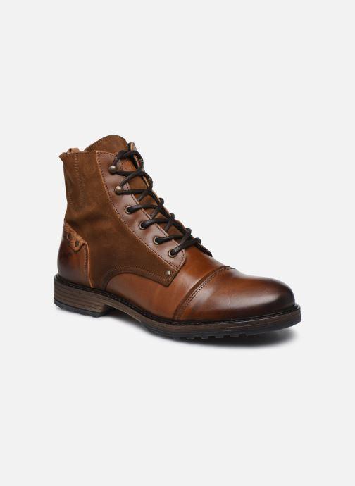 Bottines et boots Mustang shoes Samy Marron vue détail/paire