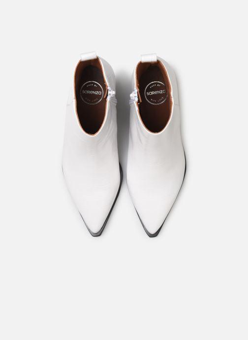 Bottines et boots Made by SARENZA Soft Folk Boots #6 Blanc vue portées chaussures