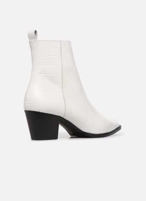 Bottines et boots Made by SARENZA Soft Folk Boots #6 Blanc vue face