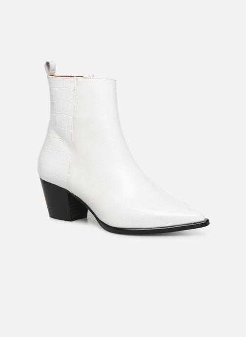 Botines  Made by SARENZA Soft Folk Boots #6 Blanco vista lateral derecha