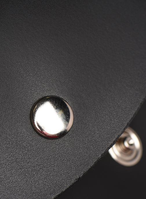 Marroquinería pequeña Georgia Rose Nhasa Leather Banane Negro vista lateral izquierda