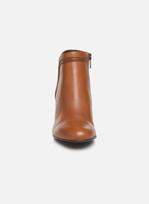 Bottines et boots Georgia Rose Lenouti Marron vue portées chaussures