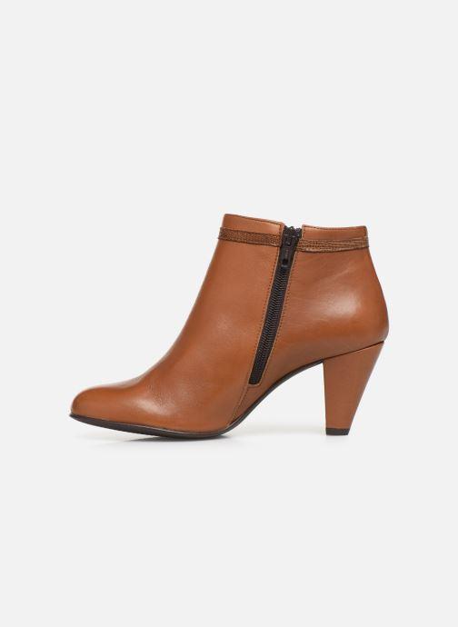Bottines et boots Georgia Rose Lenouti Marron vue face