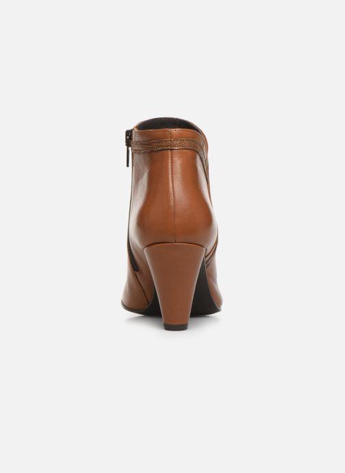 Bottines et boots Georgia Rose Lenouti Marron vue droite