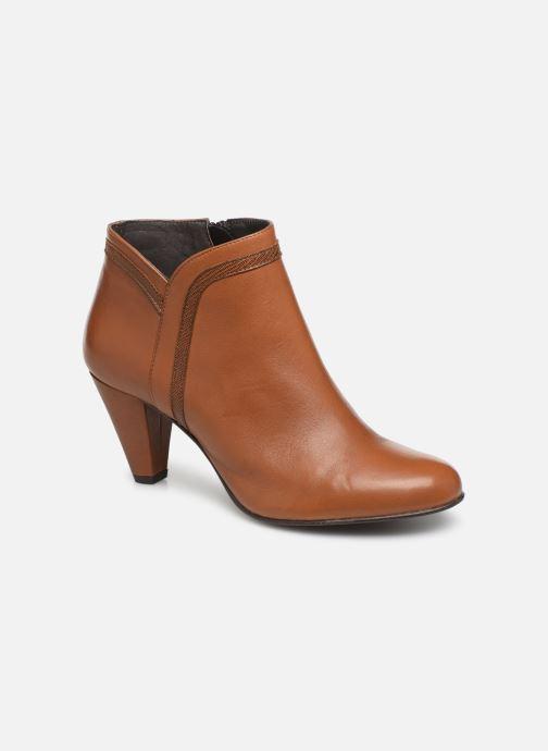 Bottines et boots Georgia Rose Lenouti Marron vue détail/paire