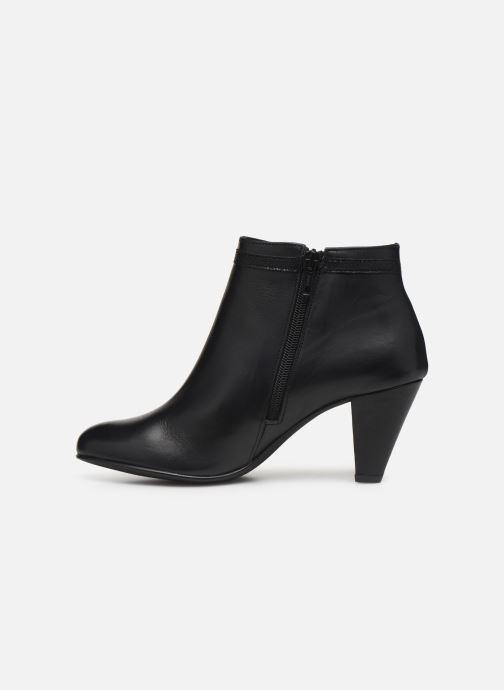 Bottines et boots Georgia Rose Lenouti Noir vue face
