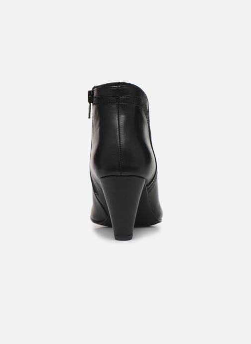 Bottines et boots Georgia Rose Lenouti Noir vue droite
