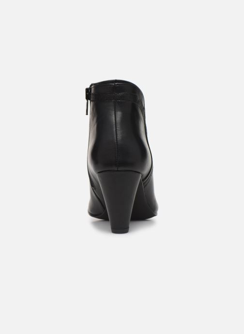 Ankle boots Georgia Rose Lenouti Black view from the right