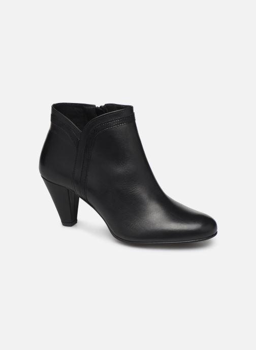 Ankelstøvler Georgia Rose Lenouti Sort detaljeret billede af skoene