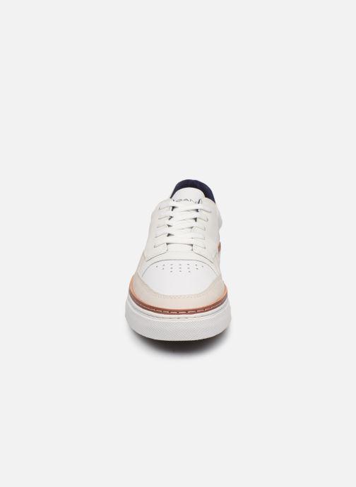 Baskets Gant Denver C Blanc vue portées chaussures