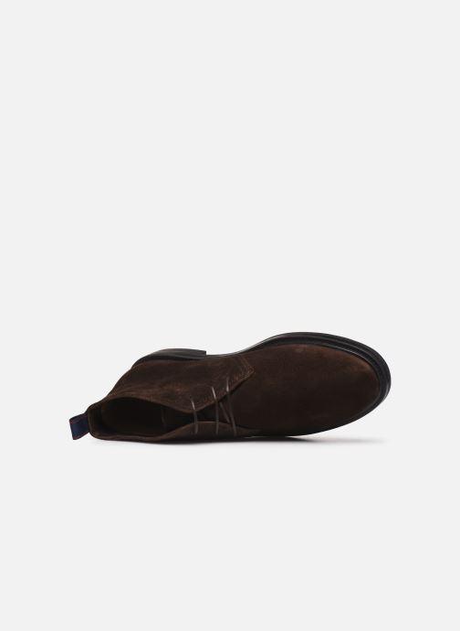 Bottines et boots Gant Fargo Hi C Marron vue gauche
