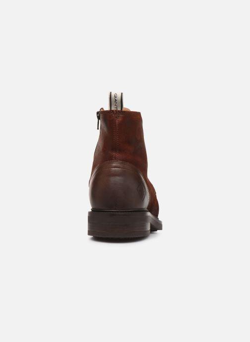 Bottines et boots Gant Martin C Marron vue droite