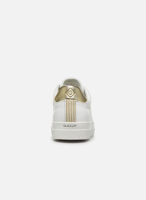 Baskets Gant Aurora C Blanc vue droite