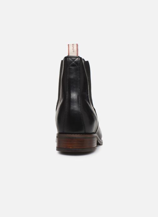 Bottines et boots Gant Fay C Noir vue droite