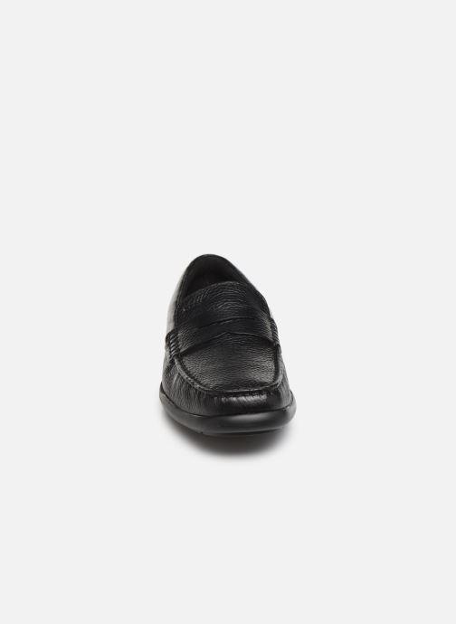 Slipper Geox U DEVAN schwarz schuhe getragen