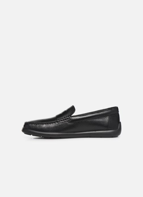 Loafers Geox U DEVAN Black front view