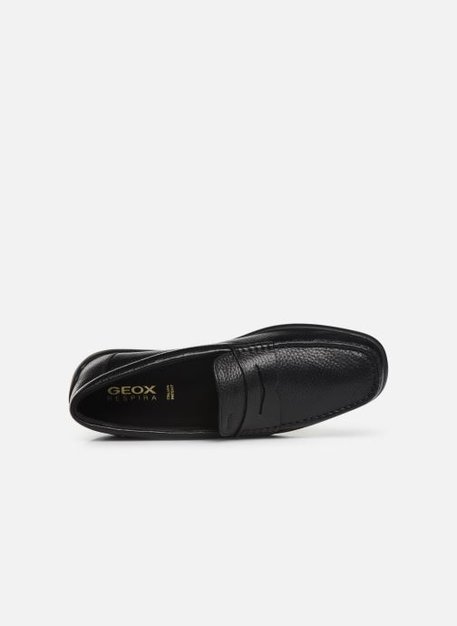 Loafers Geox U DEVAN Black view from the left