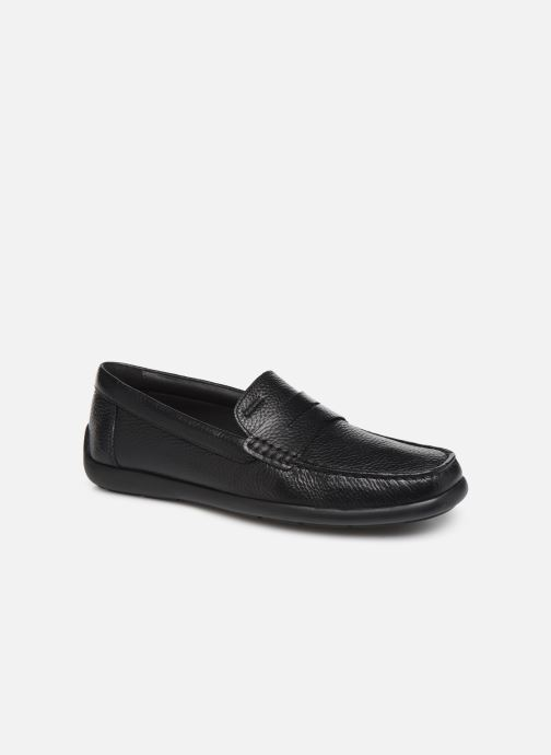 Loafers Geox U DEVAN Black detailed view/ Pair view