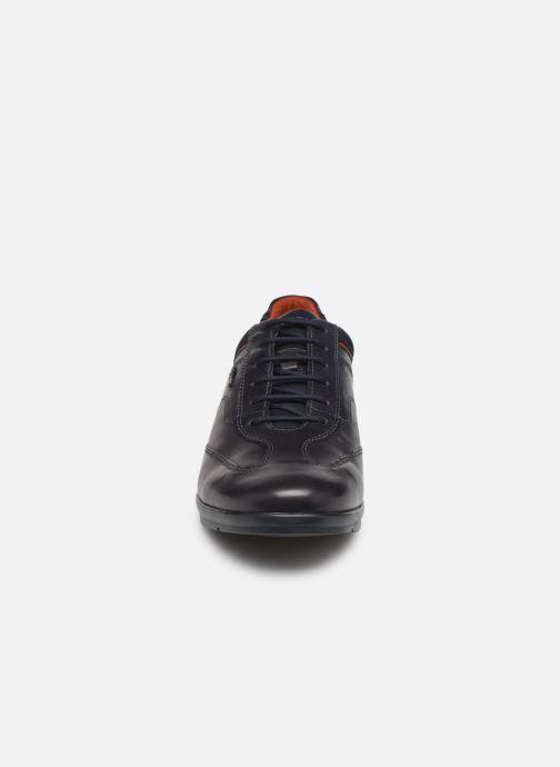 Baskets Geox U ADRIEN Bleu vue portées chaussures