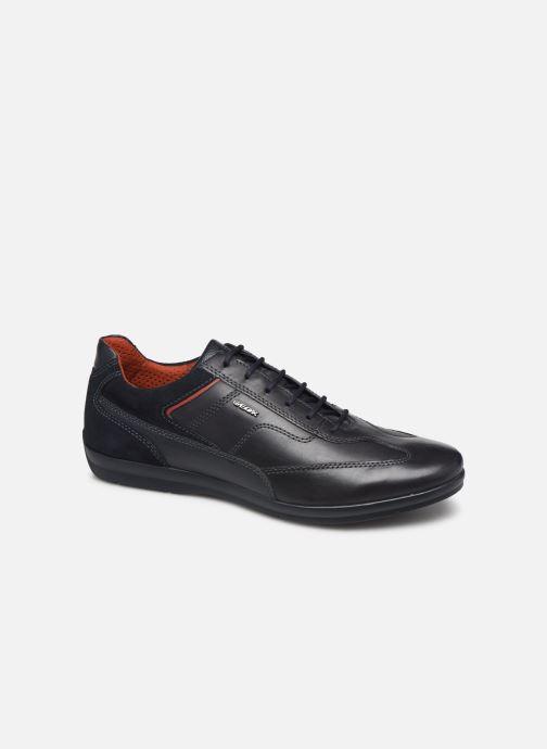 Sneakers Geox U ADRIEN Blå detaljeret billede af skoene