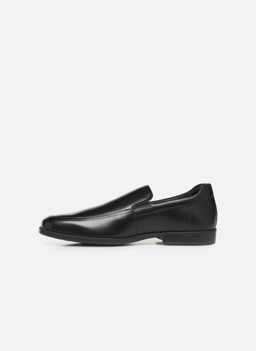 Loafers Geox U CALGARY moc Black front view