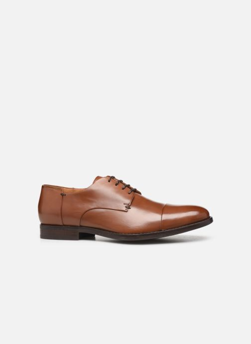 Lace-up shoes Geox U HAMPSTEAD Brown back view
