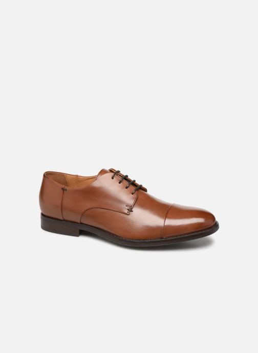 Lace-up shoes Geox U HAMPSTEAD Brown detailed view/ Pair view