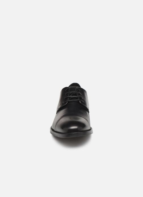 Lace-up shoes Geox U HAMPSTEAD Black model view