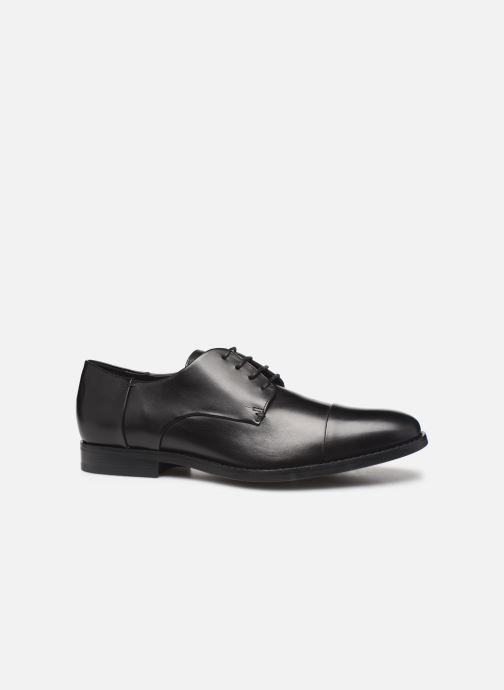 Lace-up shoes Geox U HAMPSTEAD Black back view