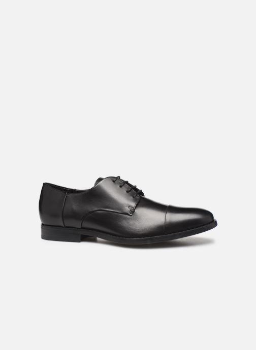 Zapatos con cordones Geox U HAMPSTEAD Negro vistra trasera