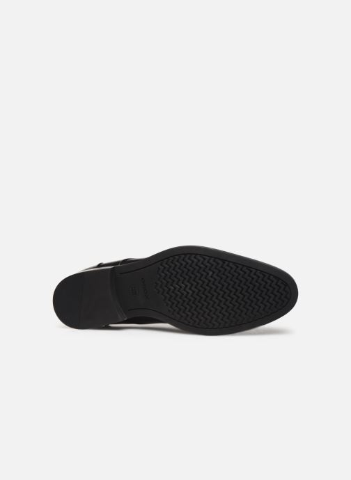 Lace-up shoes Geox U HAMPSTEAD Black view from above
