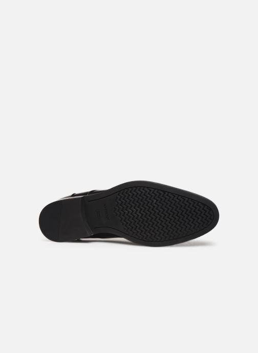 Zapatos con cordones Geox U HAMPSTEAD Negro vista de arriba