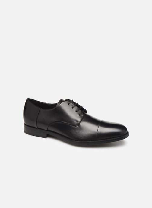 Lace-up shoes Geox U HAMPSTEAD Black detailed view/ Pair view