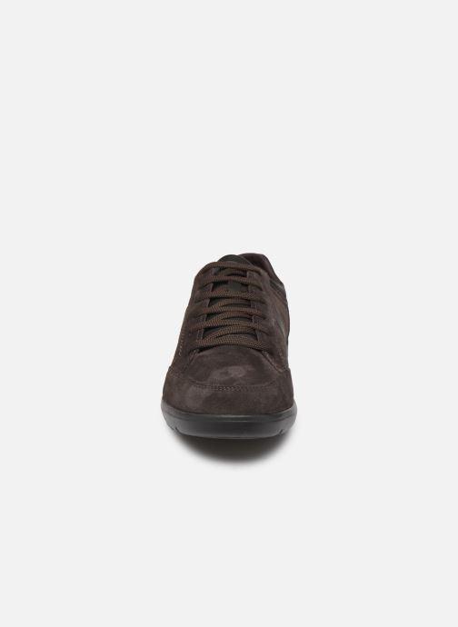 Sneaker Geox U LEITAN braun schuhe getragen