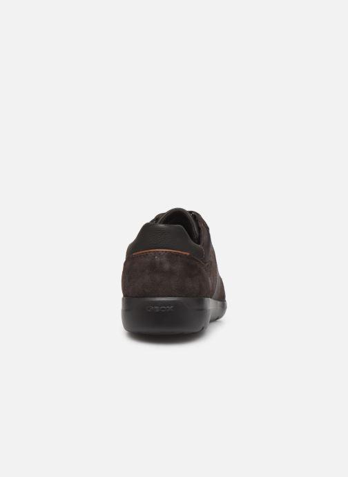 Sneaker Geox U LEITAN braun ansicht von rechts