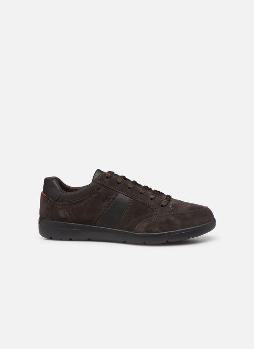 Sneaker Geox U LEITAN braun ansicht von hinten