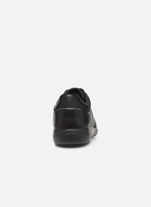 Trainers Geox U LEITAN Black view from the right
