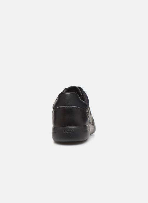 Baskets Geox U LEITAN Noir vue droite