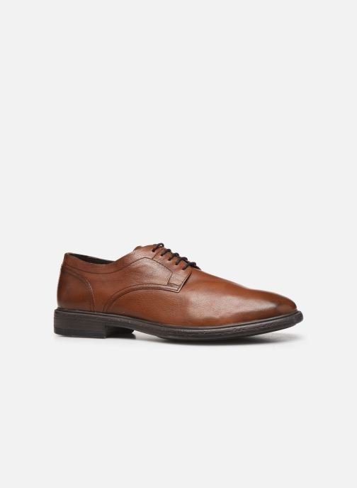 Lace-up shoes Geox U TERENCE Brown back view