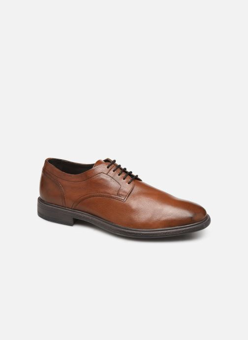 Lace-up shoes Geox U TERENCE Brown detailed view/ Pair view