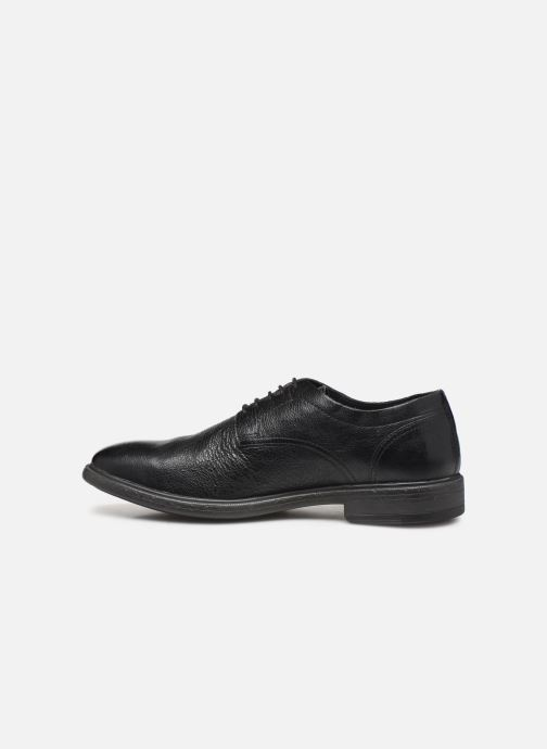 Lace-up shoes Geox U TERENCE Black front view