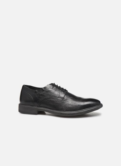Lace-up shoes Geox U TERENCE Black back view