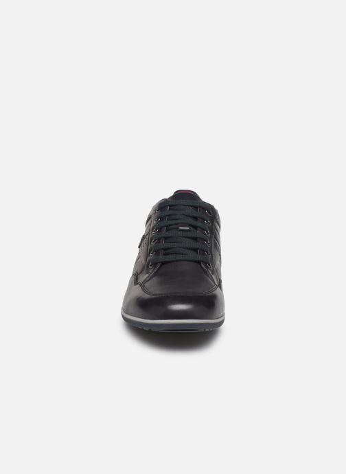 Sneaker Geox U TIMOTHY blau schuhe getragen