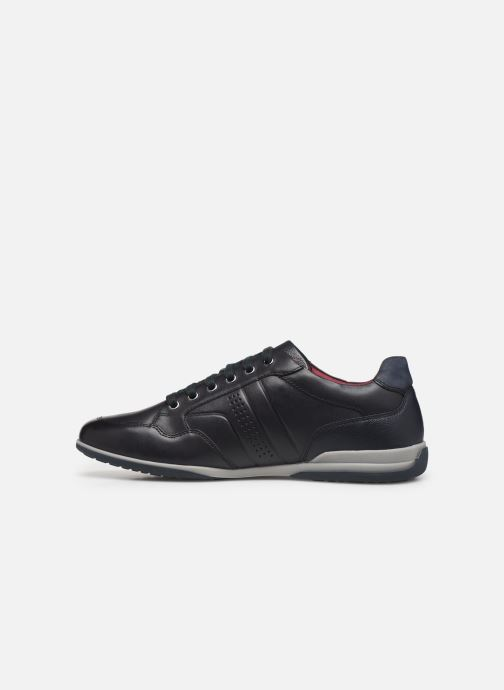 Sneakers Geox U TIMOTHY Blauw voorkant