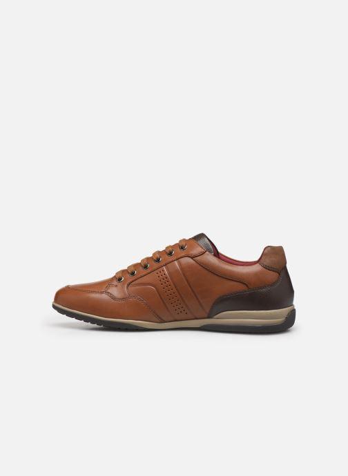 Sneakers Geox U TIMOTHY Bruin voorkant