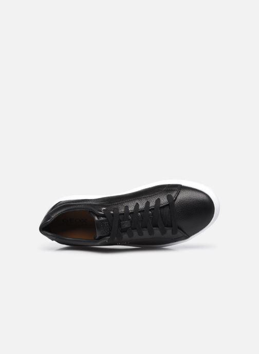 Sneaker Geox U DEIVEN schwarz ansicht von links