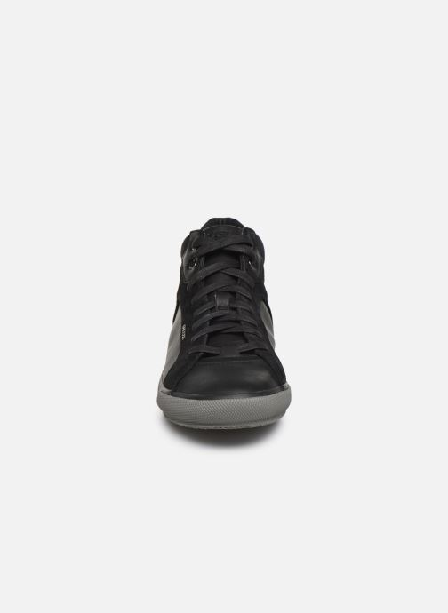 Baskets Geox U KAVEN high Noir vue portées chaussures